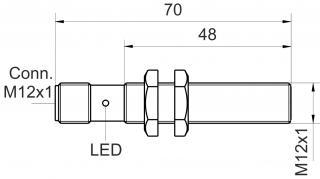 inductive sensor weld immune - KJ2-M12MB70-DPS-V2-SF
