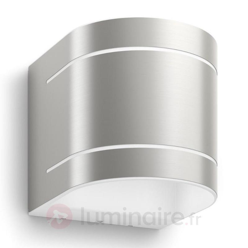 Applique d 39 ext rieur led 2 lampes sunset appliques d for Luminaire exterieur inox led