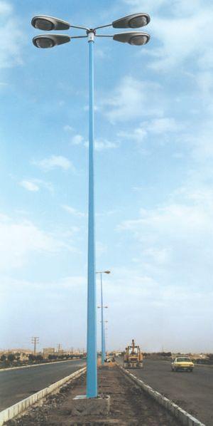 Candélabres éclairage résidentiel - Campings, lotissements - Candélabres droits Hauteur utile : 3,50 m.