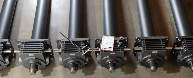 Spindelhubgetriebe Z-Serie | 5 kN bis 1.000 kN