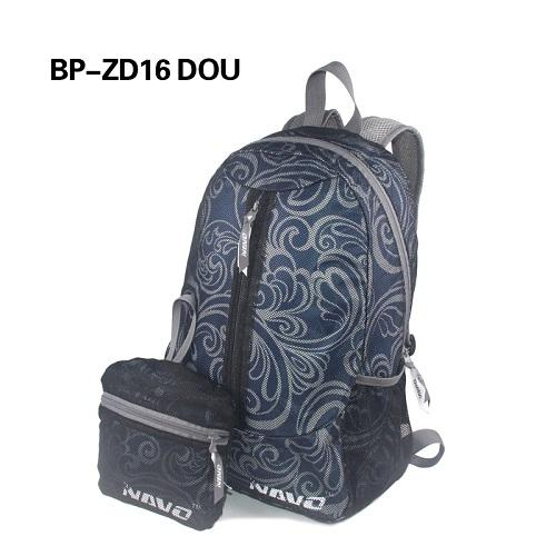 High quality double fabric backpack - Double Fabric Mesh & Printed polyester Breathable