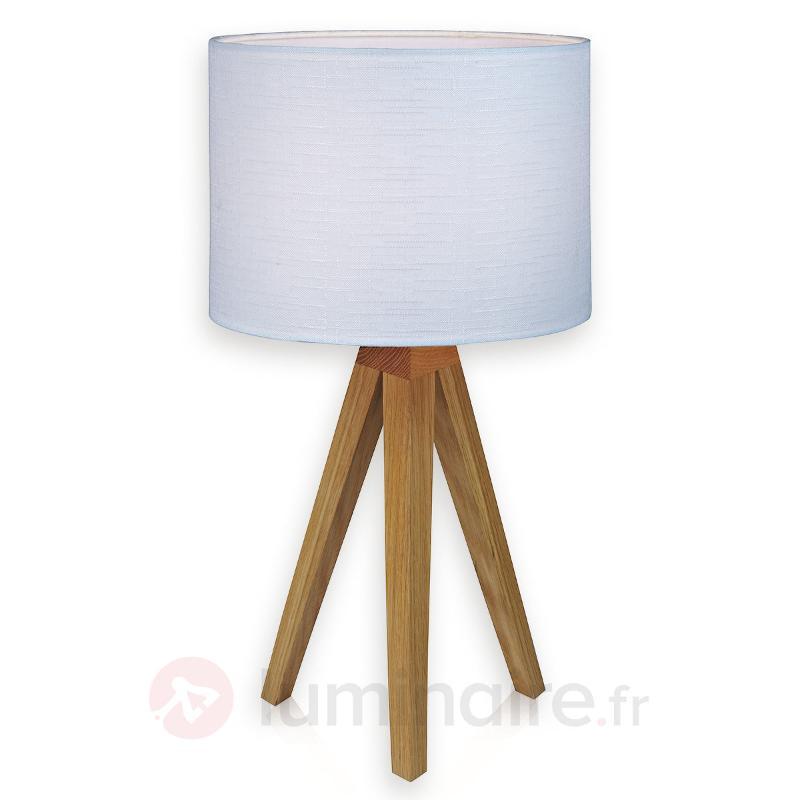 Lampe à poser trépied Kullen - Lampes à poser en bois