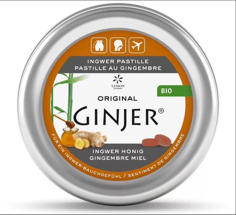 Pastille Bio Original Ginjer ® - Miel - null