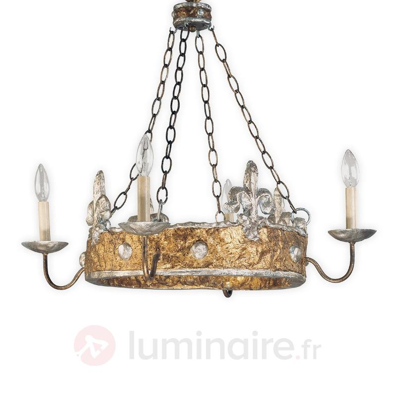 Remarquable lustre CROWN - Lustres designs, de style