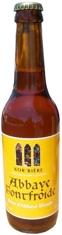 Bière blonde de l'Abbaye de Fontfroide 33CL - Boissons
