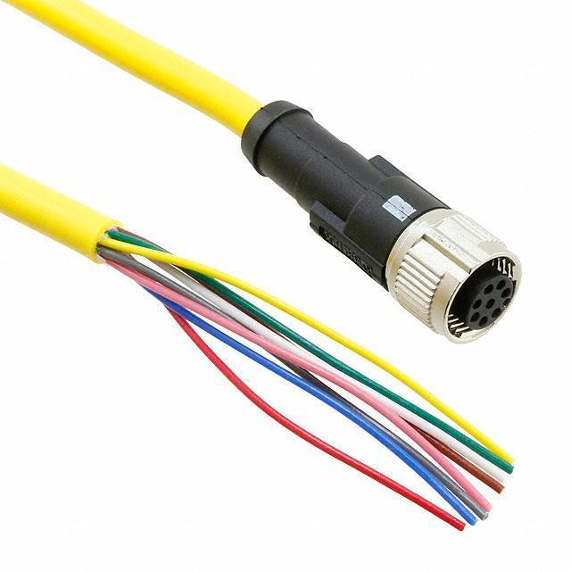 SENSOR/ACTUATOR CABLE 8POS 2M - Phoenix Contact 1406105