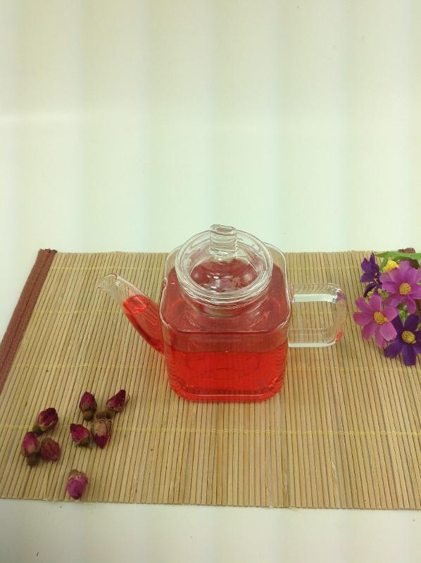 GLASS MNI SQUARE TEAPOT  - 300ML