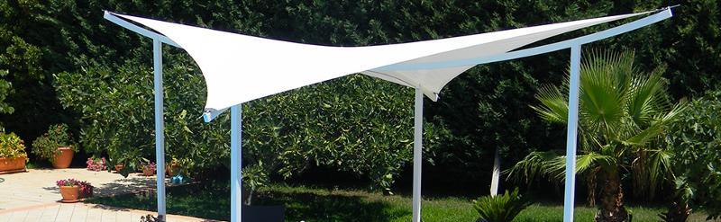 Abri de terrasse Voills - Couverture Design & Voile tendue