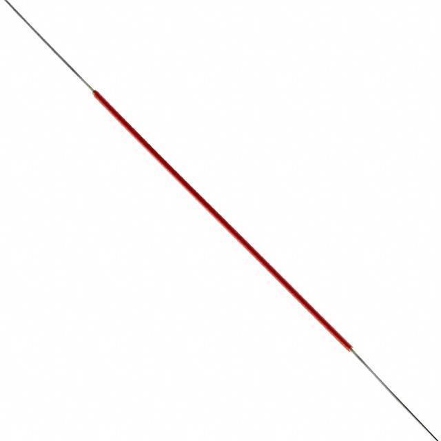 "WIRE WW 30AWG PVDF RED 5"" 50PC - Jonard Tools 30-R-50-030"
