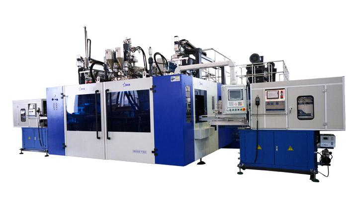 Lubricating Oil Blow Molding Machine Cases - 3-Layer Co-Extrusion With In Mould Labeling System Blow Molding Machine...