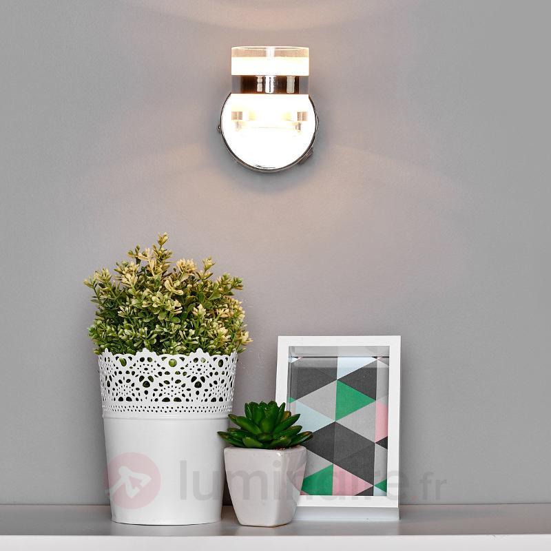 Spot mural Levent avec LED et interrupteur - Appliques LED