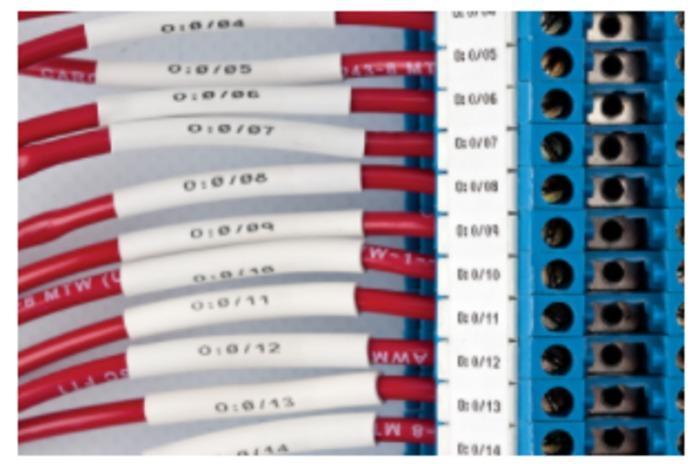 Draht- und Kabelkennzeichnung - null