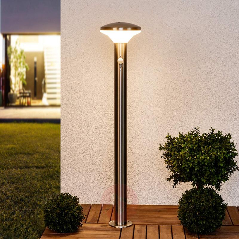 Sensor bollard light Jiyan with LEDs - outdoor-led-lights