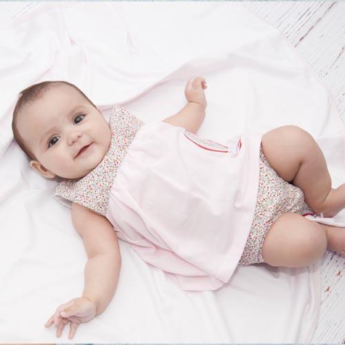Vestidos - Vestidos Minhon para bebé menina