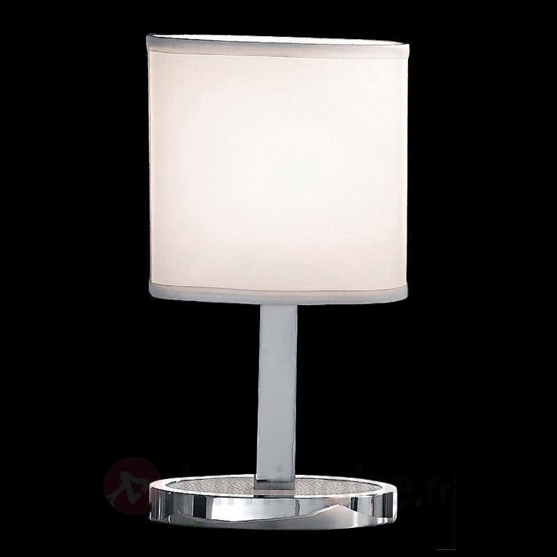 MAKSIM - lampe de bureau moderne, blanc - Lampes de chevet