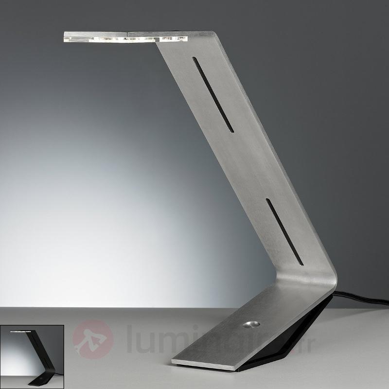 Lampe à poser LED futuriste Flad - Lampes de bureau LED