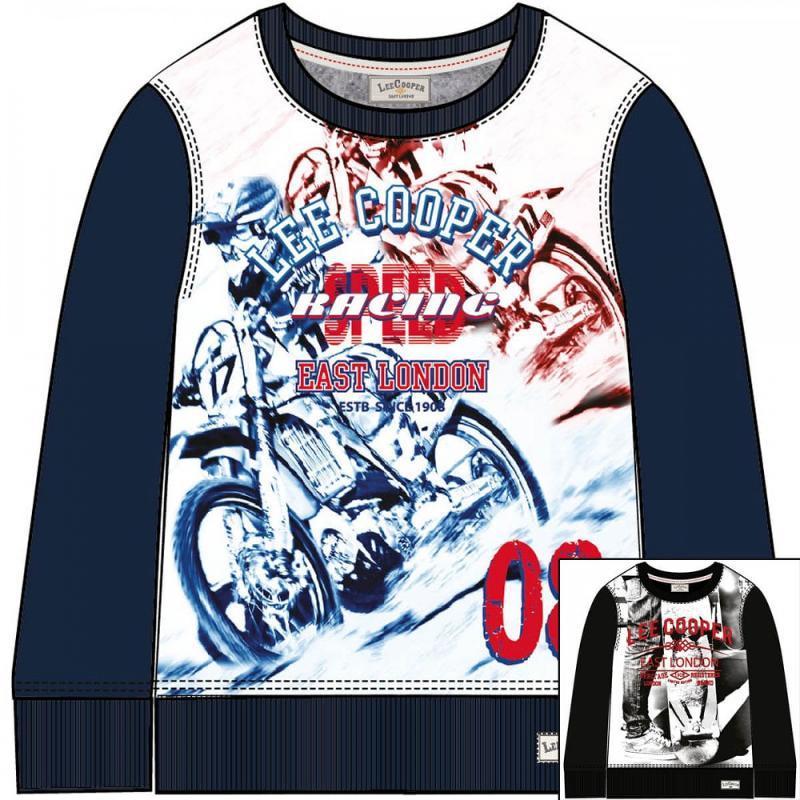 12x T-shirts manches longues Lee Cooper du 4 au 14 ans - T-shirt et polo manches longues