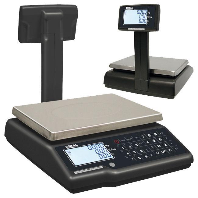 Serie G-400 - Balanzas de mostrador sin impresora