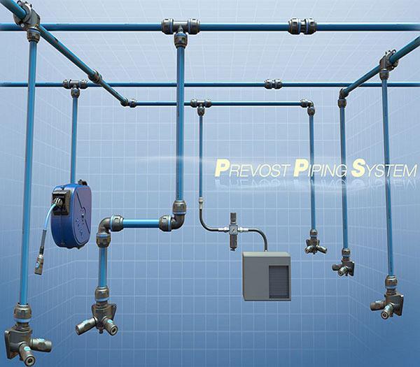 Réseau air comprimé - PPS de PREVOST