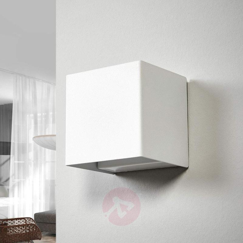 Wall light Kimberly in white with LEDs - Wall Lights