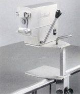 machines - blikopeners - Elektrische blikopener in RVS