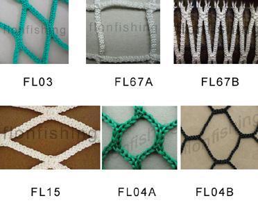 Knotless nets - PP knotless net
