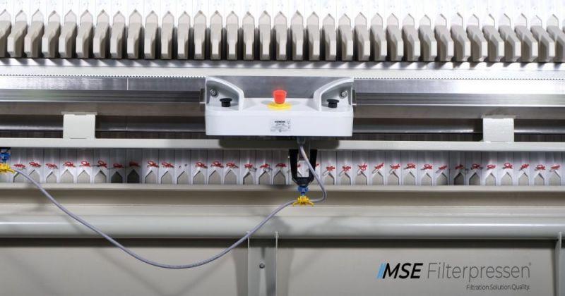 Filtro prensa semiautomático - El filtro prensa semiautomático - económica con una operación simple