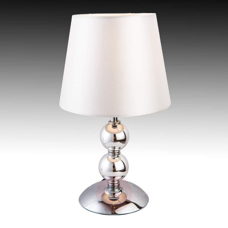 Bea chrome-plated table lamp - Table Lamps