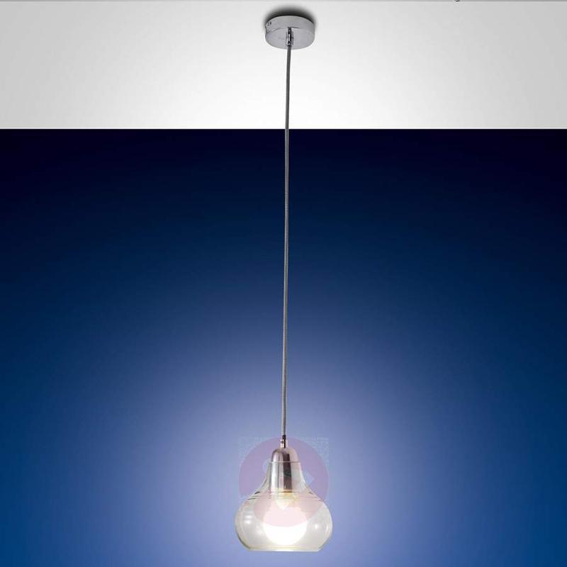 Liri Hanging Light Single-Bulb Chrome - Pendant Lighting