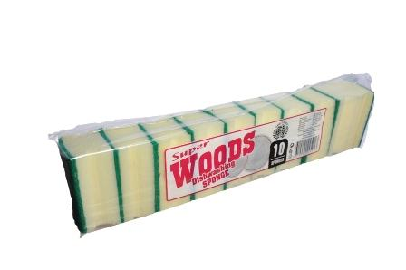 WOODS kitchen sponge