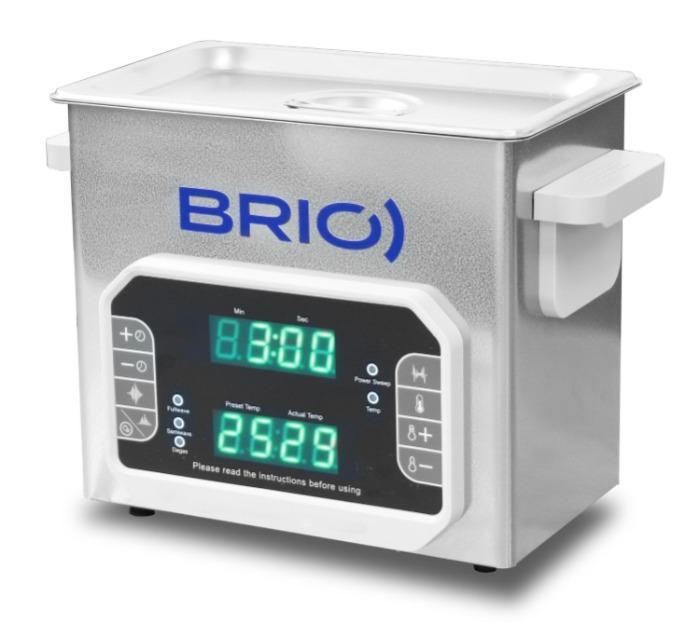 BR-3 LAB Plus - Máquina de limpieza por ultrasonidos manual de 3 L