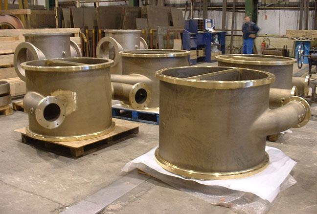Heat Exchanger Components - Aluminium Bronze Castings (ASME/ASTM)