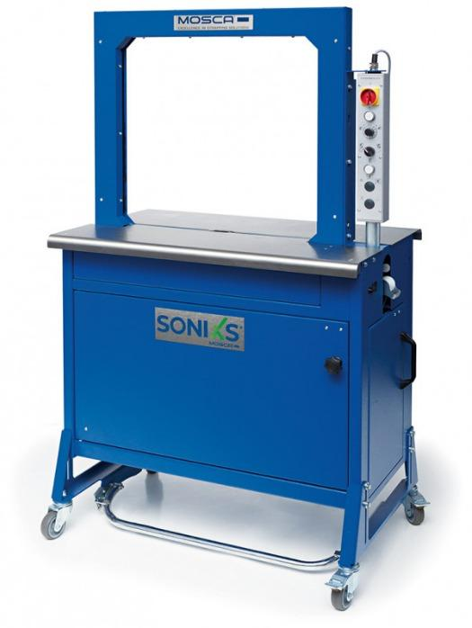 Evolution SoniXs MP-6 T - Máquina flejadora automática de mesa