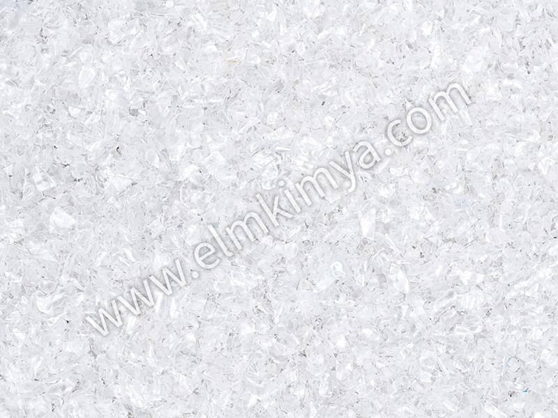 CLEAR PET FLAKES -