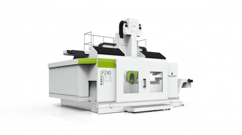 Portalfräsmaschine FZ40 compact - Portalfräsmaschine FZ40compact zur Bearbeitung von hochfesten,festen Materialien
