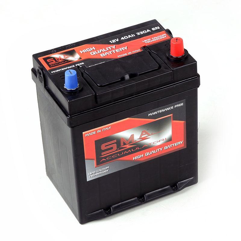 Batteria per avviamento automobili 40H, 12V - Produzione batterie per auto senza manutenzione