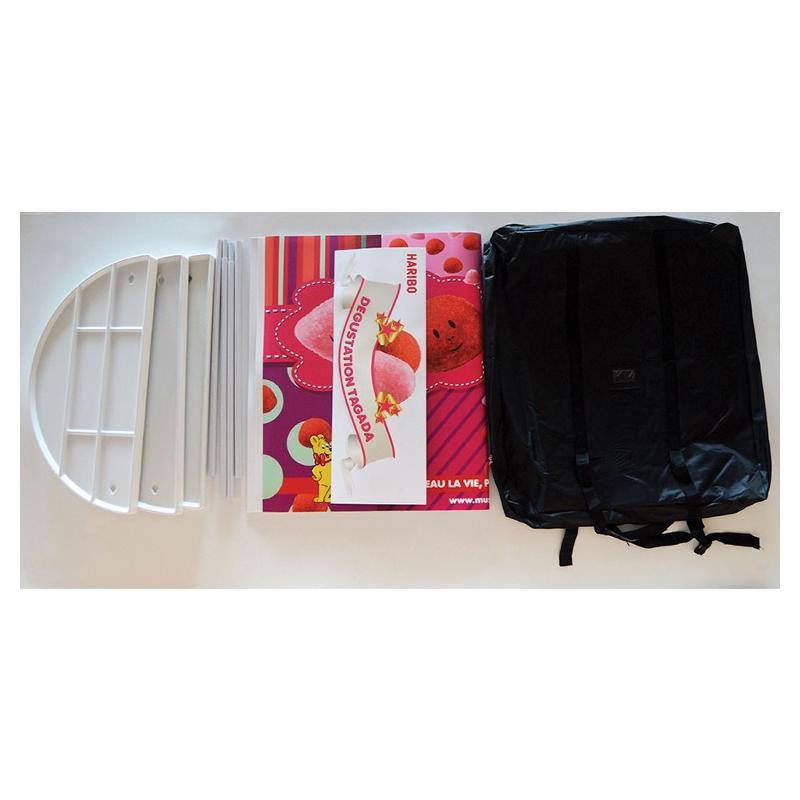 Comptoir d'accueil visuel PVC - Pop up et stand publicitaire