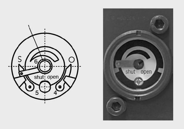 Indicador de posición de válvula VOLUMEC - Para controlar válvulas de barcos accionadas hidráulicamente