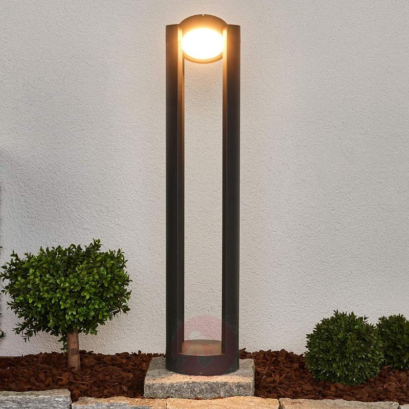 Adjustable Dylen LED bollard lamp - Path and Bollard Lights