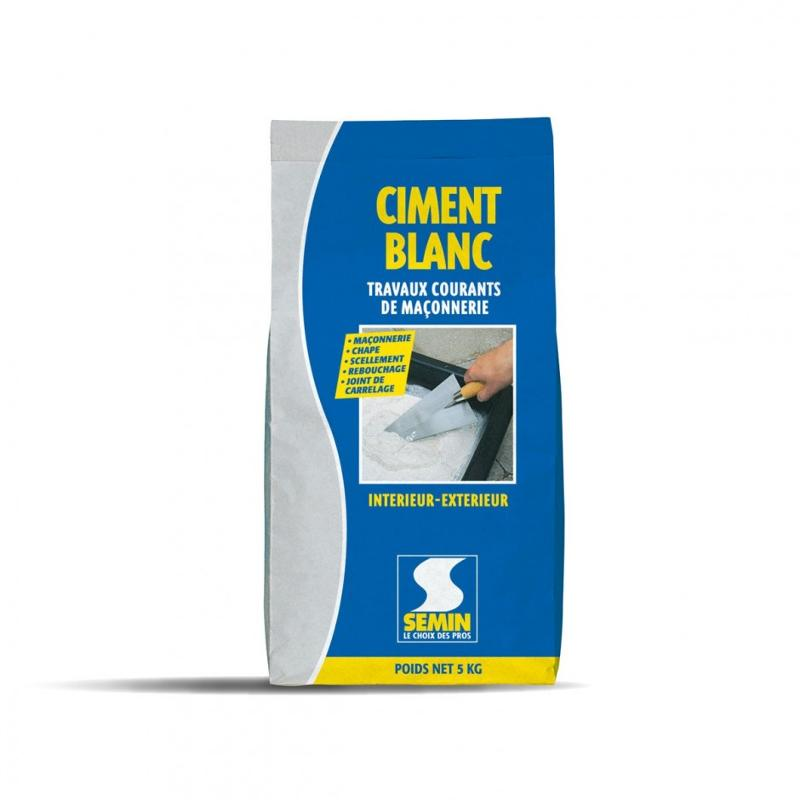 CIMENT BLANC - Ciment blanc