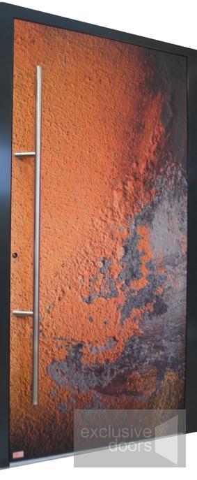 Drzwi z nietypową grafiką - drzwi zewnętrzne