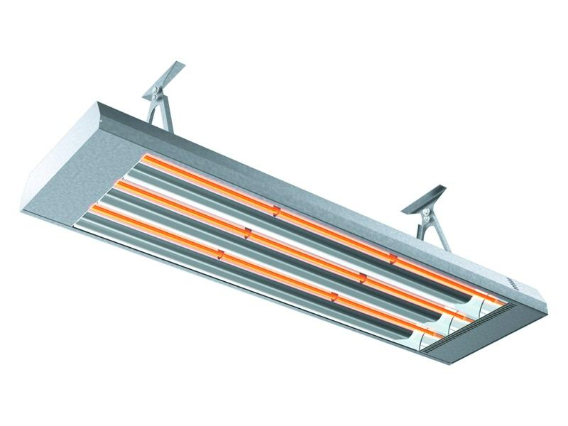 InduStrip IHS Industrial Infrared heater  - Infrared-heater for rooms with large volumes and high ceilings.