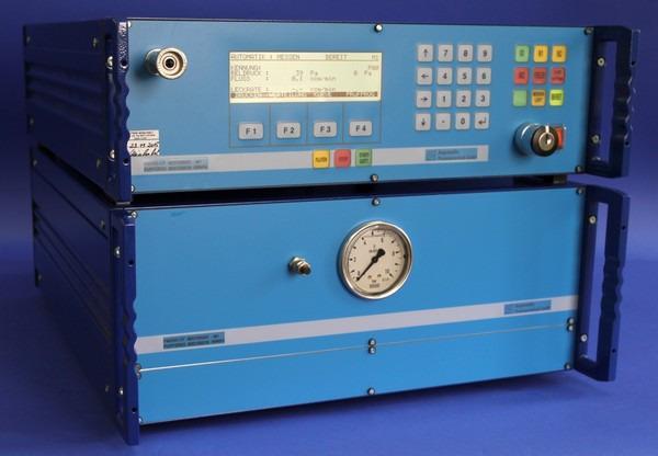 Comprobador de fugas PMD02-CF/DF - Proceso de flujo másico con tecnología de desbordamiento para presión positiva o