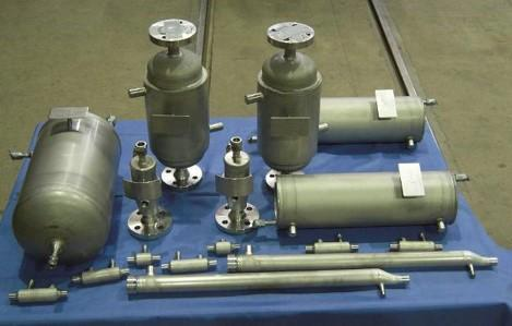 High-pressure equipment and plants - for special applications