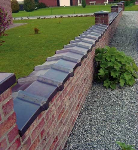 Couvre-murs - Produits en grès