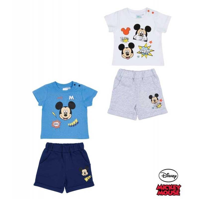 Disney Mickey Conjunto camiseta y pantalón corto