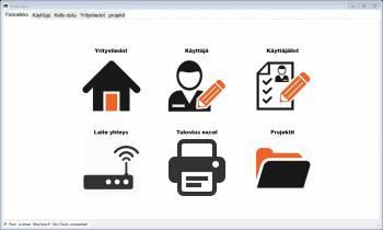 Työajanseuranta ohjelma - Työaikakirjanpito automaattisesti