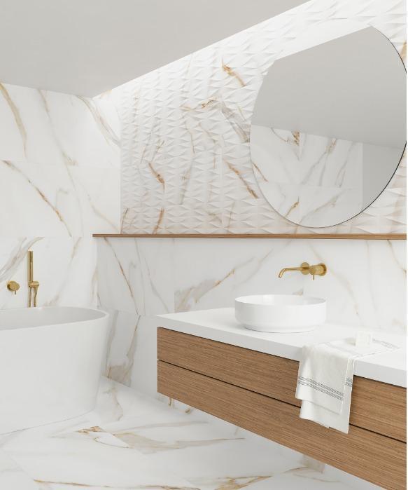 Calacatta Gold - Pavimento y revestimiento porcelánico