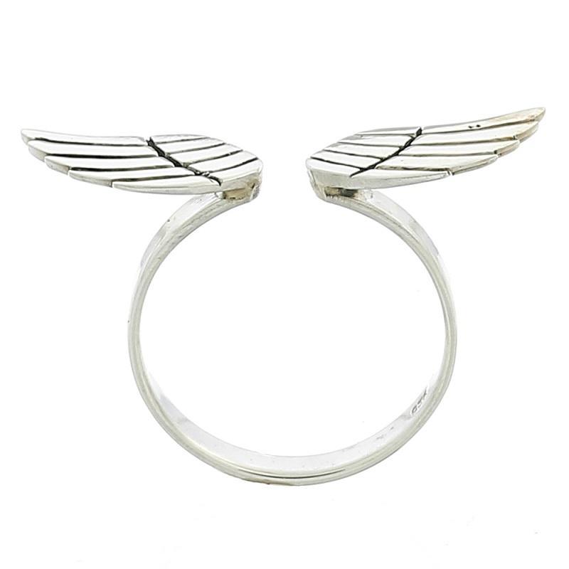 Anillo Alas de Angel en Plata de Ley 925 - Modelo 22881
