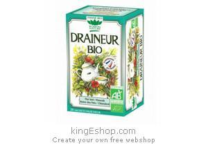 Tisane Bio Draineur Aide Minceur - Référence : 2AIDDRAINE